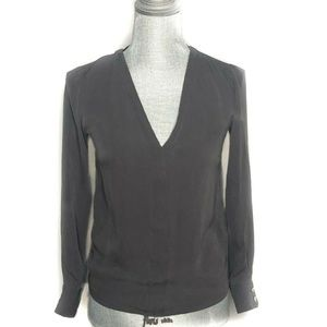 Wilfred Top Long Sleeve V-Neck Casual Silk (BB31)